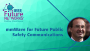 mmWave for Future Public Safety Communications - Michele Zorzi - 5G Technologies for Tactical and First Responder Networks 2018