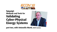 Validating Cyber-Physical Energy Systems, Part 2: IECON 2018