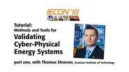 Validating Cyber-Physical Energy Systems, Part 1: IECON 2018