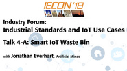 Industrial Standards and IoT Use Cases - Talk Four-A: IECON 2018