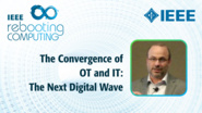 The Convergence of OT & IT | The Next Digital Wave - Gerald Kleyn - ICRC 2018, Industry Session