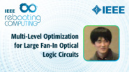 Multi-Level Optimization for Large Fan-In Optical Logic Circuits - Takumi Egawa - ICRC 2018