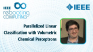 Parallelized Linear Classification with Volumetric Chemical Perceptrons - Jacob Rosenstein - ICRC 2018