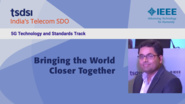 Bringing the World Closer Together - Abhishek Tiwari - India Mobile Congress, 2018