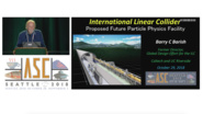 Superconducting RF Cavities and Future Particle Accelerators - Applied Superconductivity Conference 2018