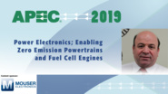 Zero Emission Powertrains and Fuel Cell Engines: APEC 2019