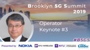 Operator Keynote: Seizo Onoe - B5GS 2019