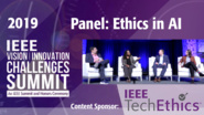 Panel: Ethics in AI - Impacts of (Anti?) Social Robotics - VIC Summit 2019