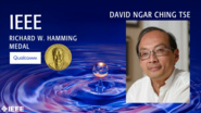 David Ngar Ching Tse - IEEE Richard W. Hamming Medal, 2019 IEEE Honors Ceremony