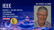 Richard Klemm - IEEE Dennis J. Picard Medal for Radar Technologies and Applications, 2019 IEEE Honors Ceremony