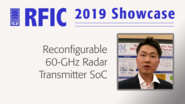 Reconfigurable 60-GHz Radar Transmitter SoC - Wooram Lee - RFIC 2019 Showcase