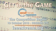 IEEEXtreme 2019 - Register Now!