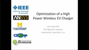 Optimization of a High Power Wireless EV Charger