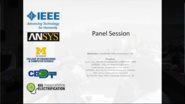 IEEE Transportation Electrification Community - Panel Session
