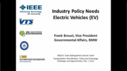The Future of Electric Mobility - How to Make EVS Successful