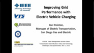 Improving Grid Performance with Electric Vehicle Charging