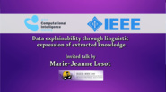 Data Explainability Through Linguistic Expression of Extracted Knowledge