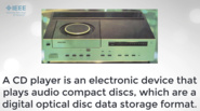 IEEE Day Milestone: Compact Disc Technology