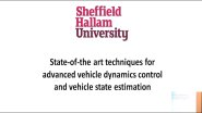 State-of-the art techniques for advanced vehicle dynamics control & vehicle state estimation