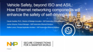 "CASS Lecture with Dr. Claude Gauthier, ""Automotive Ethernet and Functional Safety"""
