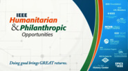 IEEE Humanitarian and Philantropic Opportunities