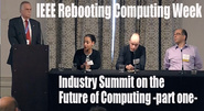 Rebooting Computing Week: Industry Summit, part 1