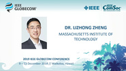 Lizhong Zheng's Globecom 2019 Keynote
