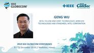 Globecom 2019: Geng Wu Keynote