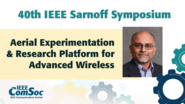 Aerial Experimentation & Research Platform for Advanced Wireless - Rudra Dutta - IEEE Sarnoff Symposium, 2019