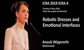 2019 ICRA-X Keynote- Robotic Dresses and Emotional Interfaces