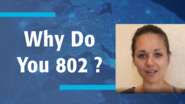 Why Do You 802? - Amelia Andersdotter -  IEEE 802 Leader