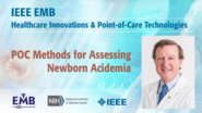 POC Methods for Assessing Newborn Acidemia - James Greenberg - IEEE EMBS at NIH, 2019
