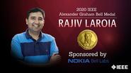 Honors 2020: Rajiv Laroia Wins the IEEE Alexander Graham Bell Medal