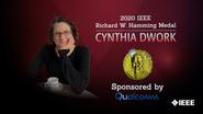 2020 IEEE Honors: IEEE Richard W. Hamming Medal- Cynthia Dwork