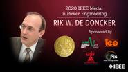 Honors 2020: Rik W. De Doncker Wins the IEEE Power Engineering Medal