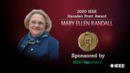 Honors 2020: Mary Ellen Randall Wins the IEEE Haraden Pratt Award