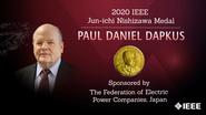 Honors 2020: Paul Daniel Dapkus Wins the Jun-ichi Nishizawa Medal