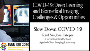Raul San Jose Estepar - COVID-19, Deep Learning and Biomedical Imaging Panel