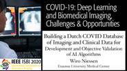 Wiro Niessen - COVID-19, Deep Learning and Biomedical Imaging Panel