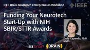 IEEE Brain: Funding Your Neurotech Start-Up with NIH SBIR/STTR Awards