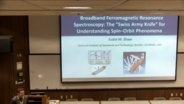 JUSTIN M. SHAW - IEEE Magnetics Distinguished Lecture