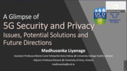 Tutorial 2: 5G Security & Privacy - NetSoft 2020 Conference