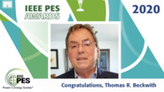 IEEE PES Awards 2020: PES Award for Excellence in Power Distribution Engineering