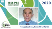 IEEE PES Awards 2020: IEEE PES Charles Concordia Power Systems Engineering Award