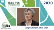 IEEE PES Awards 2020: IEEE PES CSEE Yu-Hsiu Ku Electrical Engineering Award