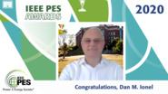 IEEE PES Awards 2020: IEEE PES Cyril Veinott Electromechanical Energy Award