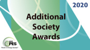 Additional Society Awards: PES Awards 2020