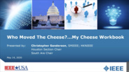 Webinar: Who Moved My Cheese?...My Cheese Workbook