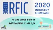 Masato Kohtani - RFIC Industry Showcase - IMS 2020