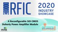 Ayssar Serhan - RFIC Industry Showcase - IMS 2020